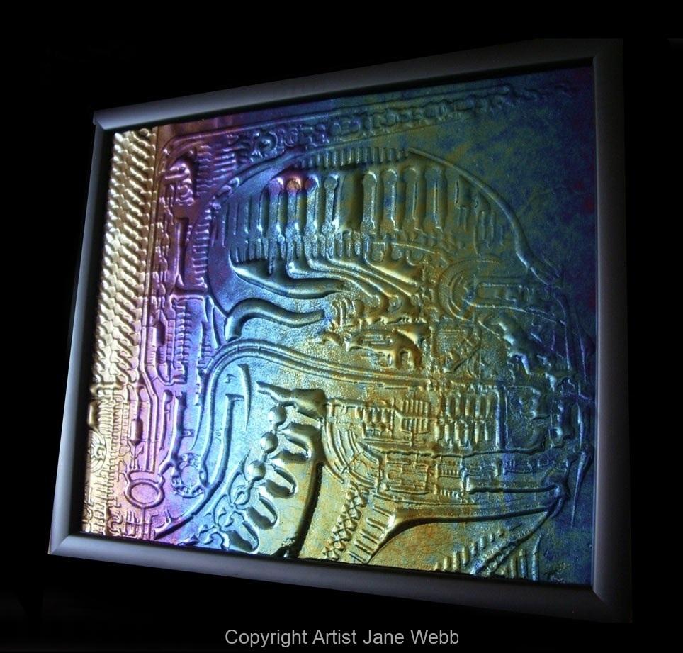 Giger-glass-wall-art-sc-fi