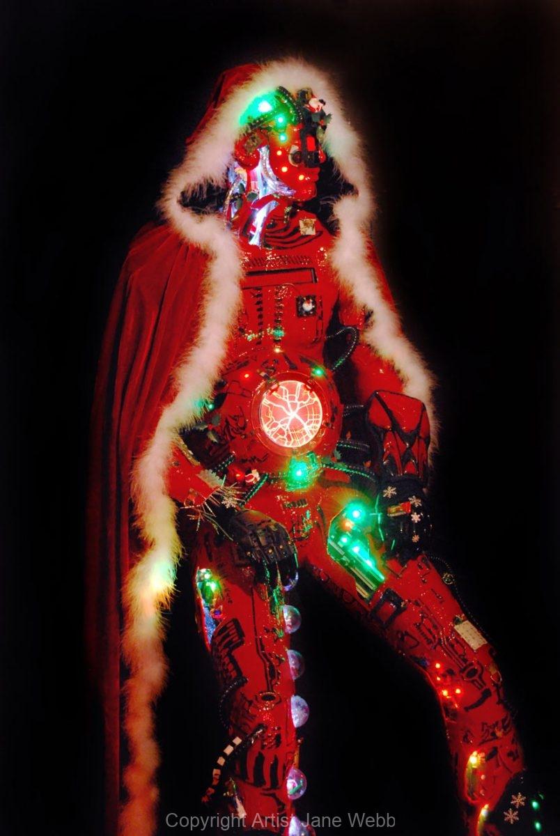 Robot-Santa-art-Jane-Webb