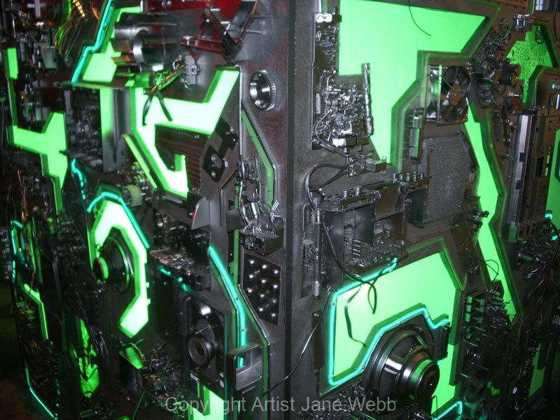 The-cube-detail-recycled-ewaste-art