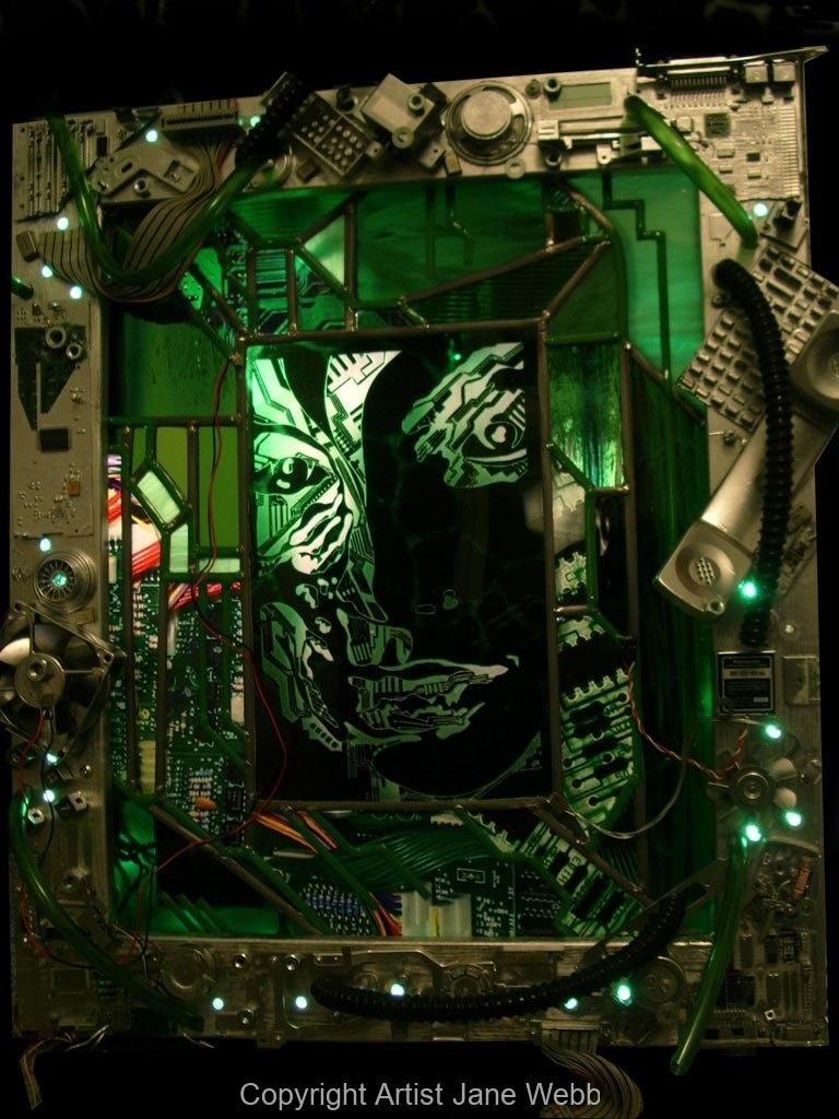 circuit-board-art-recycled-junk