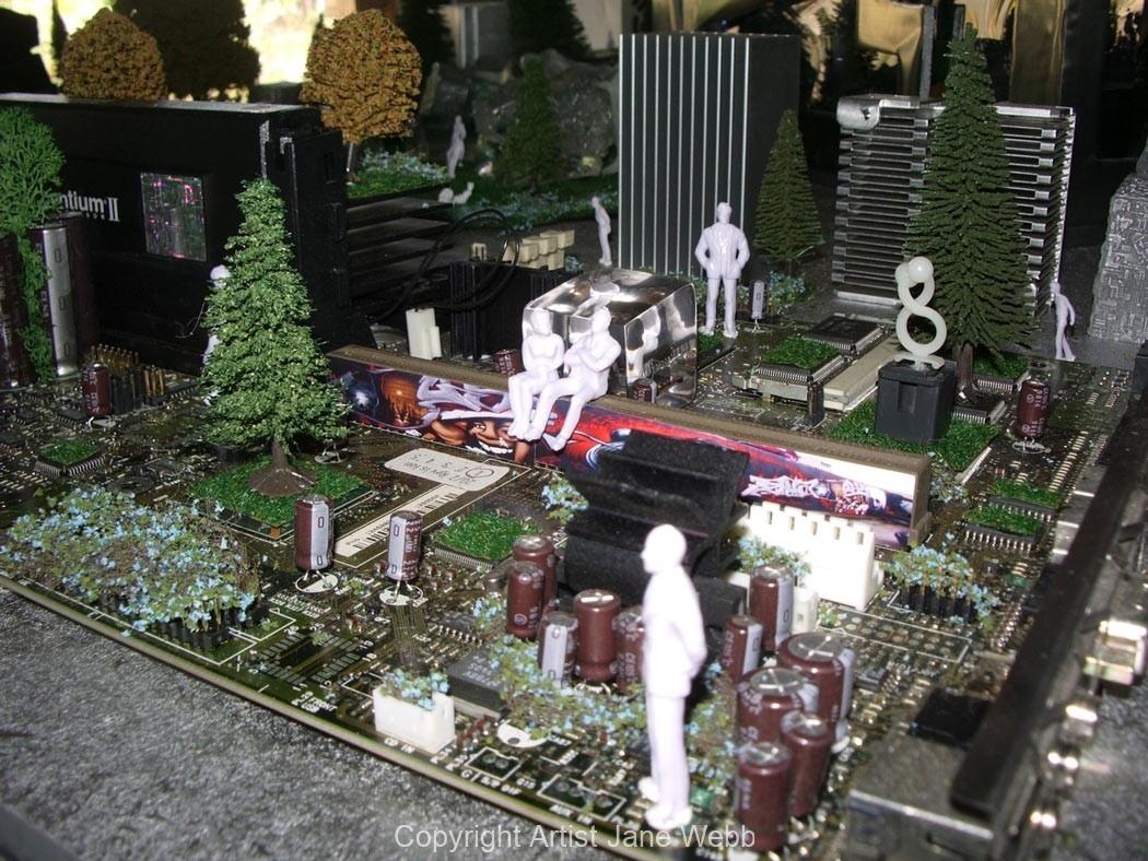 ciruit-board-art-model-city-Jane-Webb