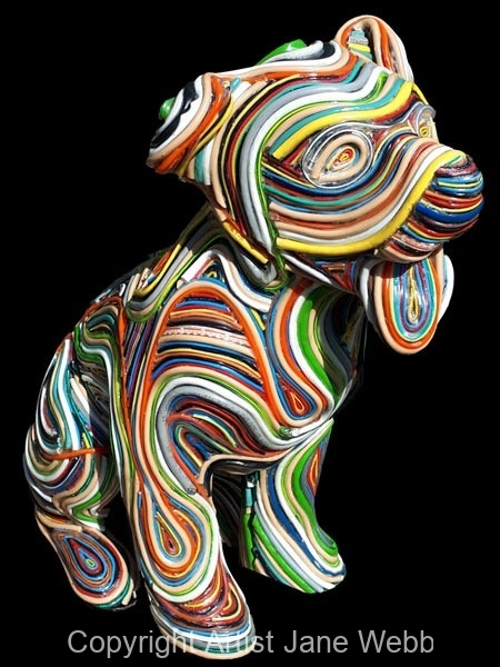 recycled-wire-sculpture-jane-webb
