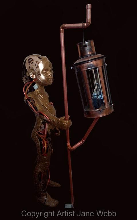 steampunk-boy-sciulpture-art-by-Jane-Webb