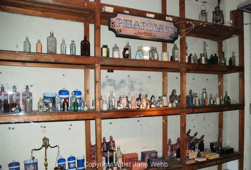 Victorian-Chemist-props-muesum