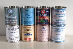 World-War-ration-tin-cans-props-packs