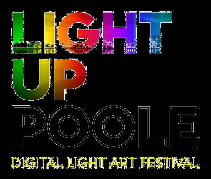Light up Poole light art