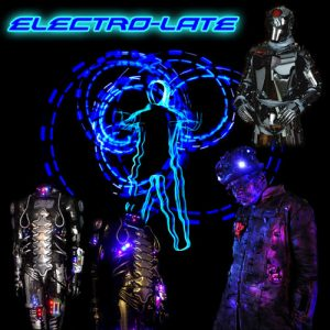 Museum of London art event called Electro-late