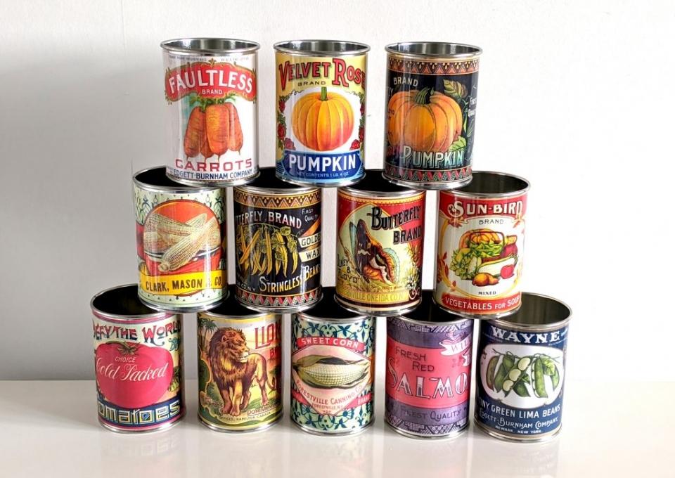 retro replica cans