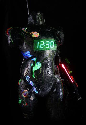 Robot humanoid art by Jane webb