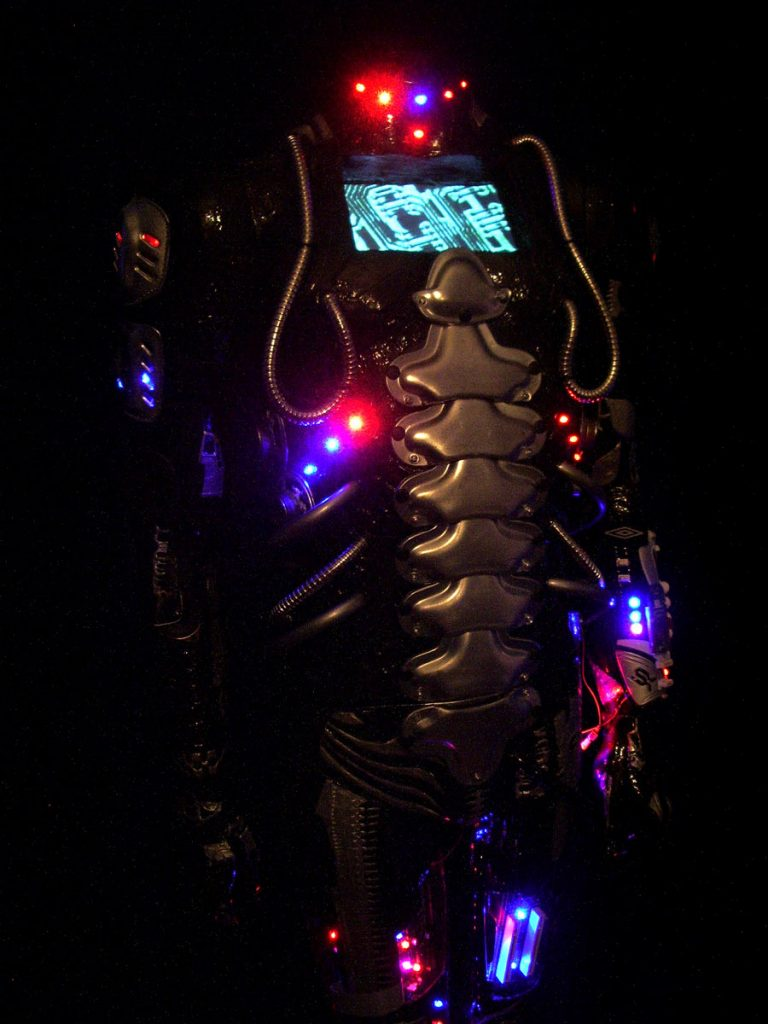 Jane Webb robot art