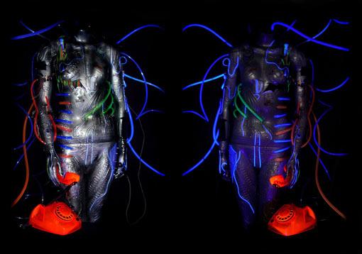 light art sculpture by Jane webb