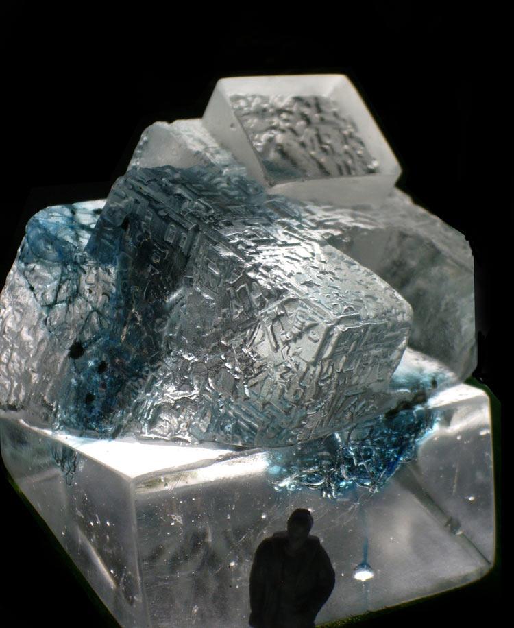 Cast glass sculpture by artist Jane Webb