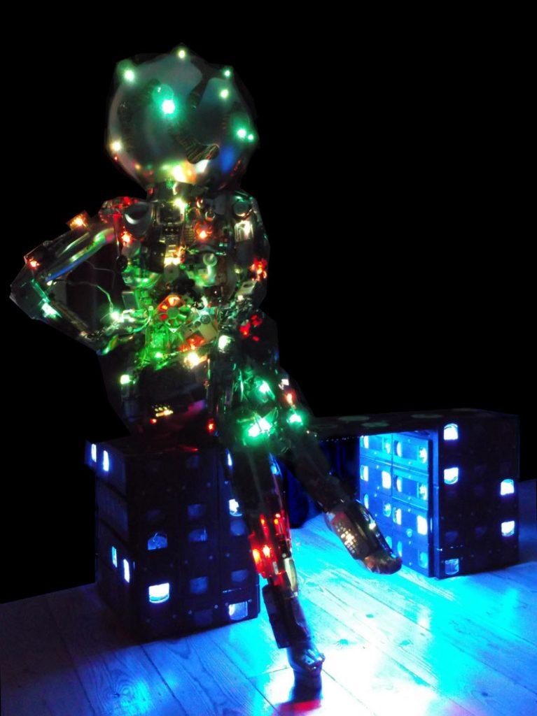 light festival light sculpture art